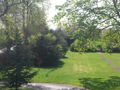 The garden at Fleetham Lodge