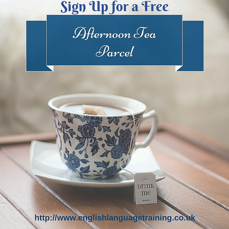Sign up for a Free Afternoon Tea Parcel!